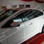Kia K3/Kx SAFE Chrome Door Visor