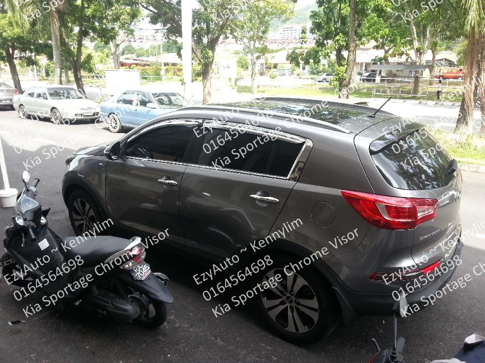 Kia Sportage SAFE Chrome Door Visor – EzyAUTO a3408bc6ef8