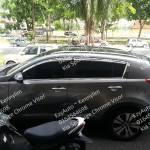 Kia Sportage SAFE Chrome Door Visor