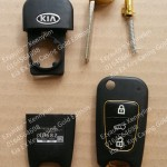 Kia Old EX Key Casing Gold Version