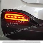 KIA Sorento 2016 3 Ways Rear Fog Lamp