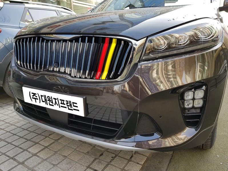 Kia Sorento M-Sport Vertical Front Grill (8 speed)